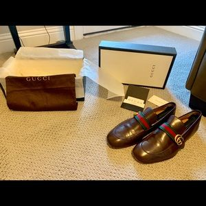 Men's bronze GG Brown Loafers